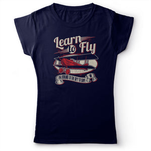 Foo Fighters - Learn To Fly - Women's T-shirt Navy Blue 2