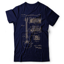 Load image into Gallery viewer, Guitar Patent Gibson - Men's T-Shirt