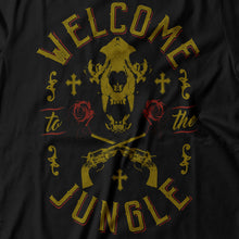Load image into Gallery viewer, Guns N' Roses - Welcome To The Jungle - Men's T-Shirt Detail