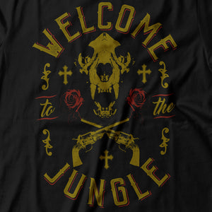 Guns N' Roses - Welcome To The Jungle - Men's T-Shirt Detail