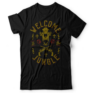 Guns N' Roses - Welcome To The Jungle - Men's T-Shirt Black