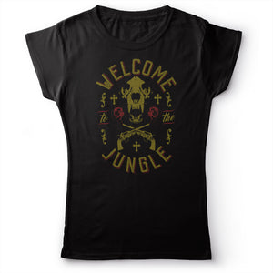 Guns N' Roses - Welcome To The Jungle - Women's T-Shirt Black 2