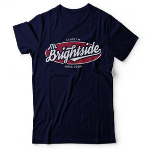 The Killers - Mr. Brightside - Men's T-Shirt Navy Blue