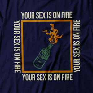 Kings Of Leon - Sex On Fire - Women's T-shirt Detail