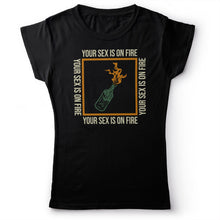 Load image into Gallery viewer, Kings Of Leon - Sex On Fire - Women's T-shirt Black 2