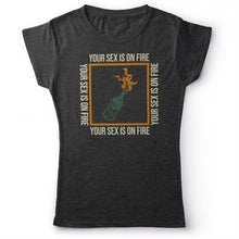 Load image into Gallery viewer, Kings Of Leon - Sex On Fire - Women's T-shirt Heather Dark Grey 2