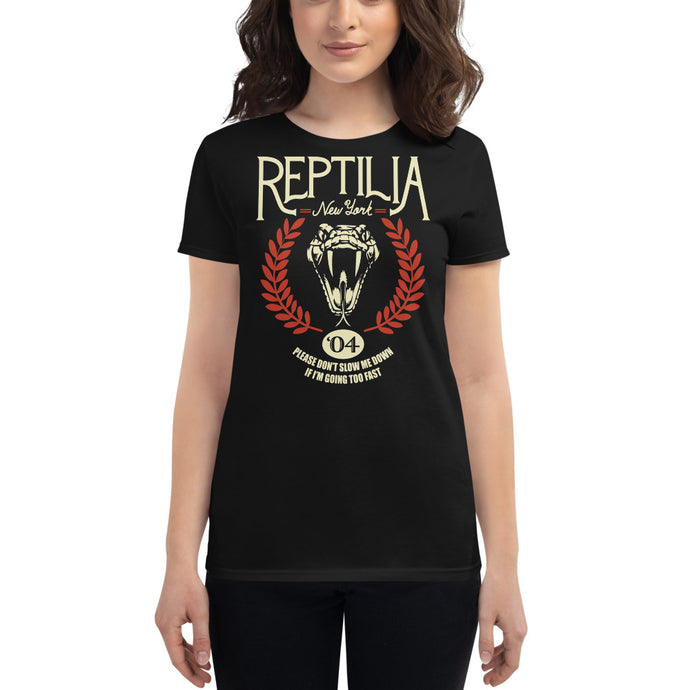 The Strokes - Reptilia - Women's T-Shirt Black
