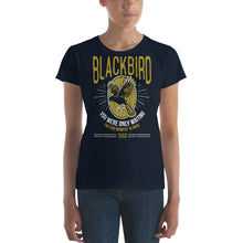 Load image into Gallery viewer, The Beatles - Blackbird - Women's T-Shirt Navy Blue