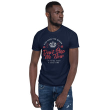 Load image into Gallery viewer, Queen - Don't Stop Me Now - Men's T-Shirt Navy Blue 2