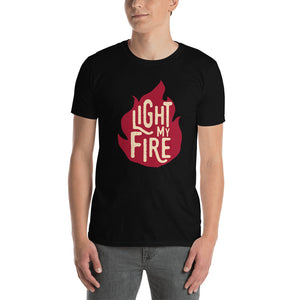 The Doors - Light My Fire - Men's T-Shirt Black 2