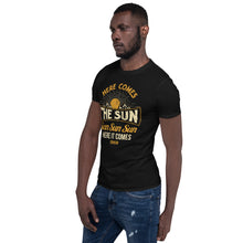 Load image into Gallery viewer, The Beatles - Here Comes The Sun - Men's T-Shirt Black 3