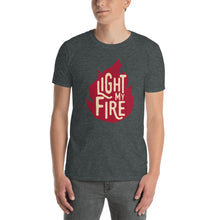 Load image into Gallery viewer, The Doors - Light My Fire - Men's T-Shirt Gray 2