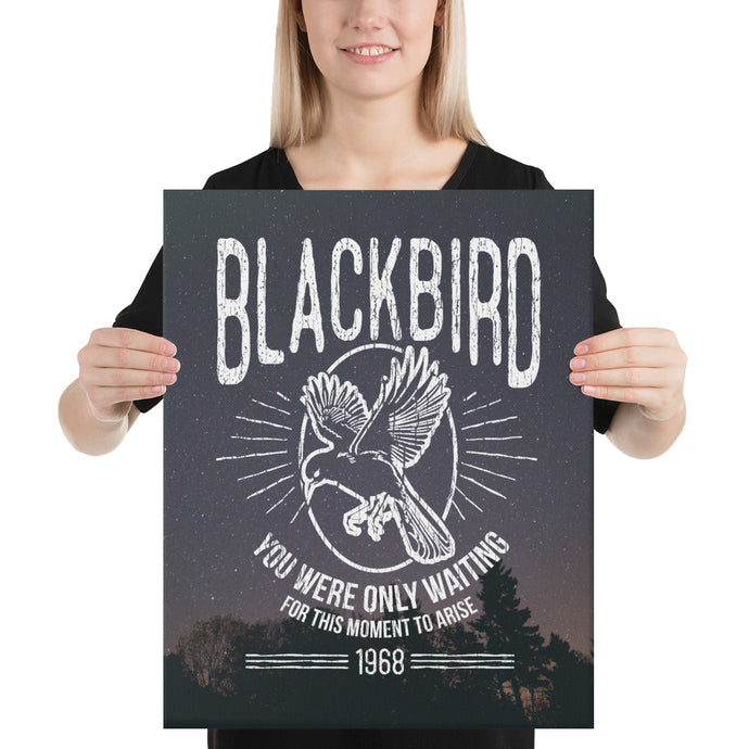 The Beatles - Blackbird - Canvas