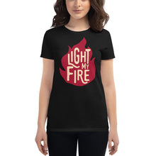 Load image into Gallery viewer, The Doors - Light My Fire - Women's T-Shirt Black