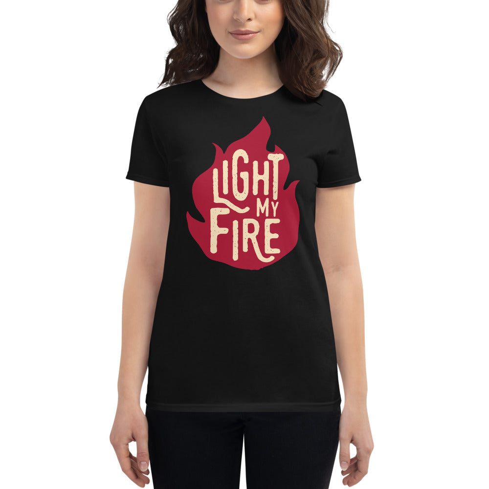 The Doors - Light My Fire - Women's T-Shirt Black