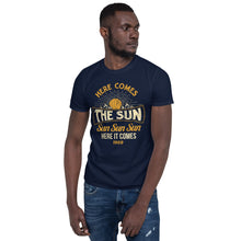 Load image into Gallery viewer, The Beatles - Here Comes The Sun - Men's T-Shirt Navy Blue 2
