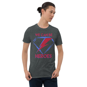 David Bowie - Heroes - Men's T-Shirt