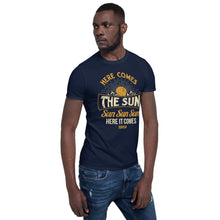 Load image into Gallery viewer, The Beatles - Here Comes The Sun - Men's T-Shirt Navy Blue 3