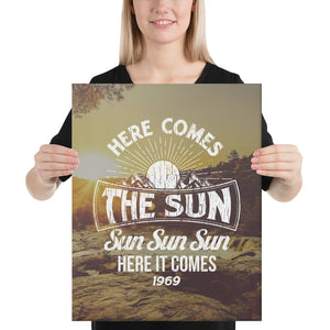 The Beatles - Here Comes The Sun - Canvas 1