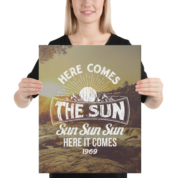 The Beatles - Here Comes The Sun - Canvas
