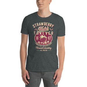 The Beatles - Strawberry Fields Forever - Men's T-Shirt Gray 2