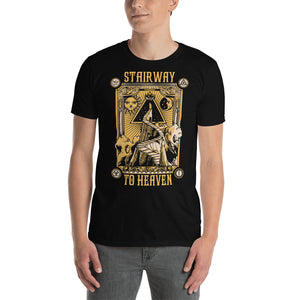 Led Zeppelin - Stairway To Heaven - Men's T-Shirt Black 2