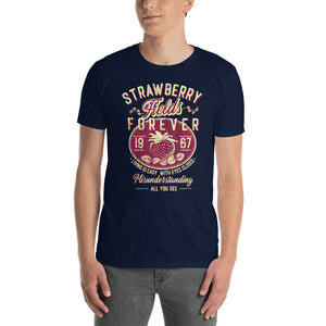 The Beatles - Strawberry Fields Forever - Men's T-Shirt Navy Blue 2