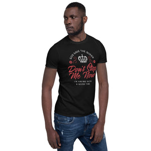 Queen - Don't Stop Me Now - Men's T-Shirt Black 2
