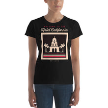 Load image into Gallery viewer, Eagles - Hotel California - Women's T-Shirt Black