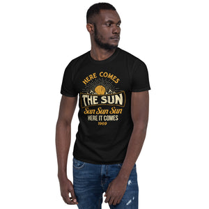 The Beatles - Here Comes The Sun - Men's T-Shirt Black 2