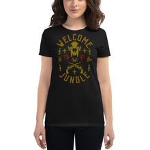 Load image into Gallery viewer, Guns N' Roses - Welcome To The Jungle - Women's T-Shirt Black