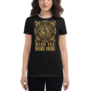 Pink Floyd - Wish You Were Here - Women's t-shirt Black