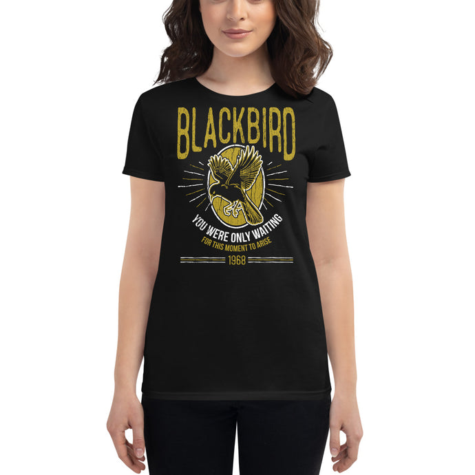 The Beatles - Blackbird - Women's T-Shirt Black