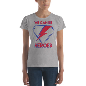 David Bowie - Heroes - Women's T-Shirt