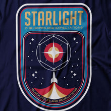 Load image into Gallery viewer, Muse - Starlight - Women's T-shirt Detail