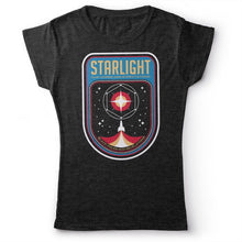 Load image into Gallery viewer, Muse - Starlight - Women's T-shirt Heather Dark Grey 2