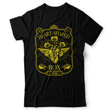 Load image into Gallery viewer, Nirvana - Heart-Shaped Box - Men's T-shirt Black