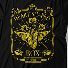 Load image into Gallery viewer, Nirvana - Heart-Shaped Box - Men's T-shirt Detail
