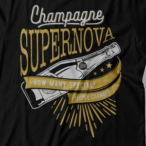 Oasis - Champagne Supernova - Women's T-shirt Detail