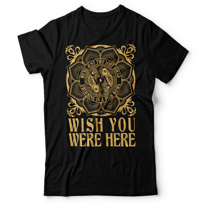 Pink Floyd - Wish You Were Here - Men's T-Shirt Black