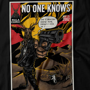 Queens of The Stone Age - No One Knows - Men's T-Shirt Detail