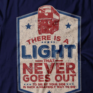 The Smiths - There Is A Light That Never Goes Out - Women's T-shirt Detail