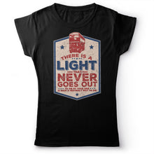 Load image into Gallery viewer, The Smiths - There Is A Light That Never Goes Out - Women's T-shirt Black 2