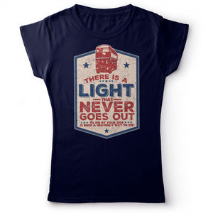 The Smiths - There Is A Light That Never Goes Out - Women's T-shirt Navy Blue 2