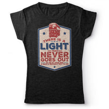 Load image into Gallery viewer, The Smiths - There Is A Light That Never Goes Out - Women's T-shirt Heather Dark Grey 2