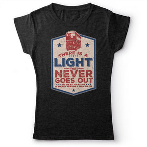 The Smiths - There Is A Light That Never Goes Out - Women's T-shirt Heather Dark Grey 2