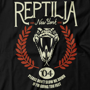 The Strokes - Reptilia - Women's T-Shirt Detail