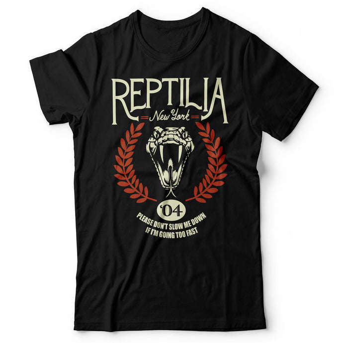 The Strokes - Reptilia - Men's T-Shirt Black