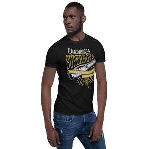 Oasis - Champagne Supernova - Men's T-shirt Black 2