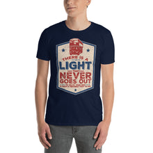 Load image into Gallery viewer, The Smiths - There Is A Light That Never Goes Out - Men's T-shirt Navy Blue 2